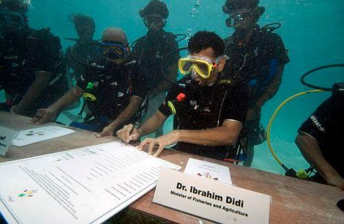 Maldives Underwater Cabinet